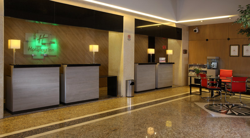 Holiday Inn Ciudad de Mexico-Trade Center-Front Desk<br/>Image from Leonardo