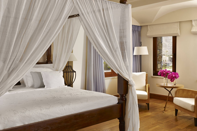 Blue Palace; a Luxury Collection Hotel-Royal Blue Villa Bedroom<br/>Image from Leonardo