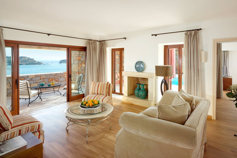 Blue Palace; a Luxury Collection Hotel-The Grand Villa Living Room<br/>Image from Leonardo