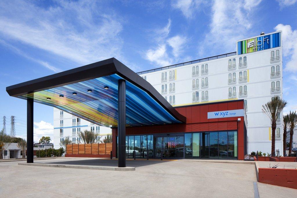 Aloft El Segundo - LAX Airport-Porte Cochere<br/>Image from Leonardo