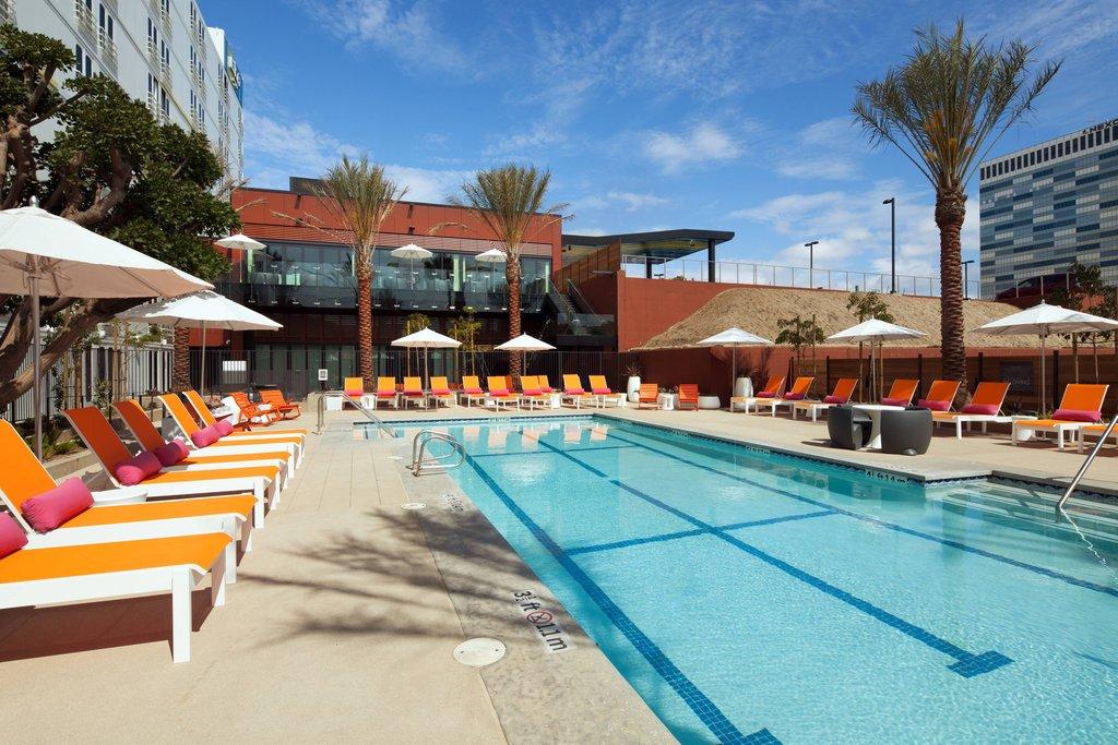 Aloft El Segundo - LAX Airport-Outdoor Pool<br/>Image from Leonardo