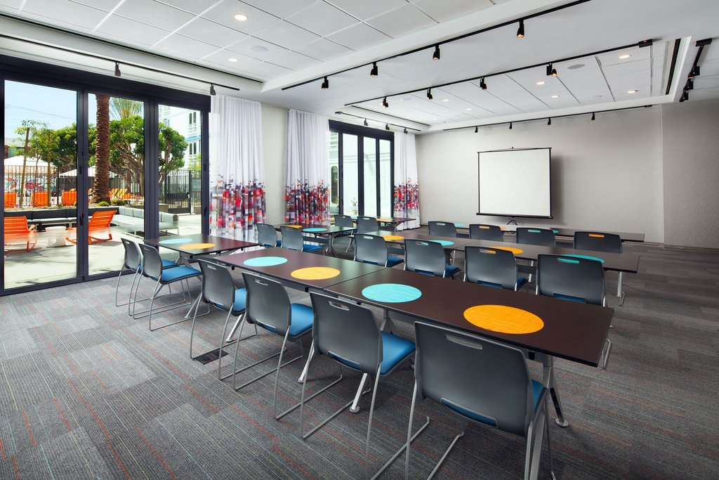 Aloft El Segundo - LAX Airport-Tactic Meeting Room<br/>Image from Leonardo