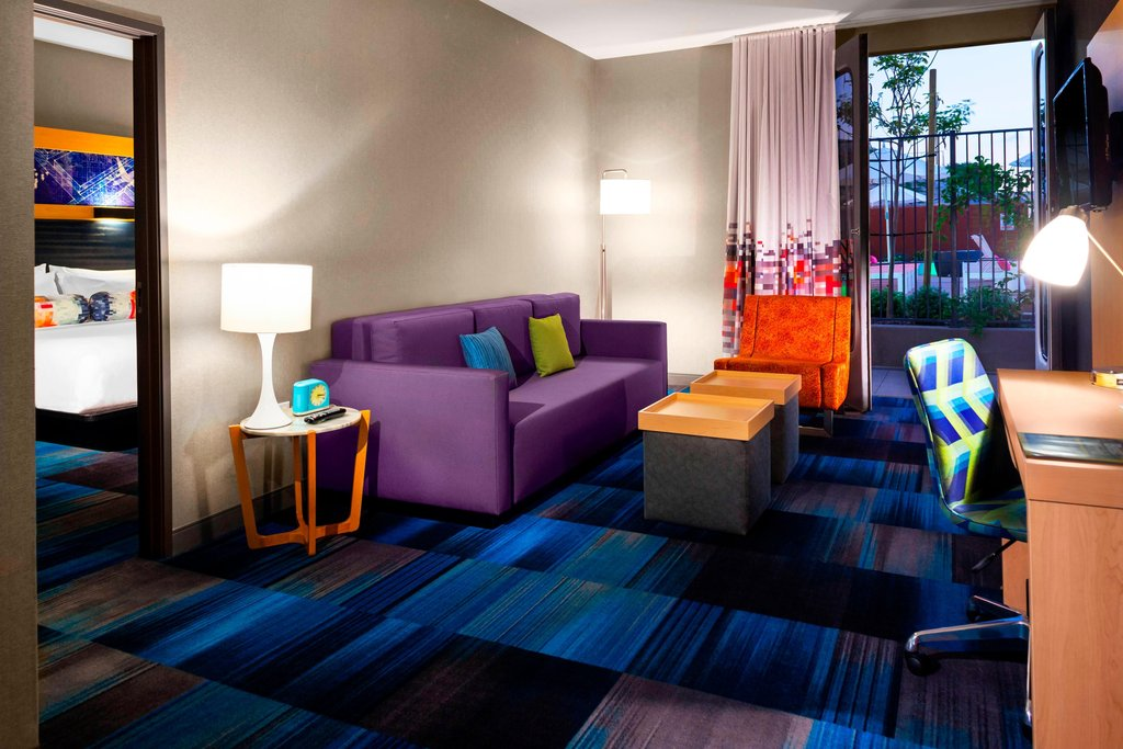 Aloft El Segundo - LAX Airport-One-Bedroom Suite<br/>Image from Leonardo