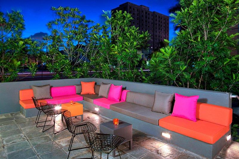 Aloft Miami - Brickell-Backyard<br/>Image from Leonardo