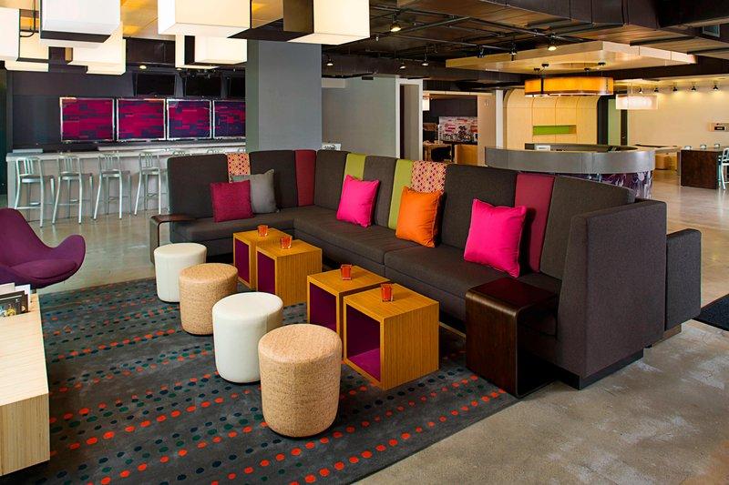Aloft Miami - Brickell-Re:mix Lounge<br/>Image from Leonardo
