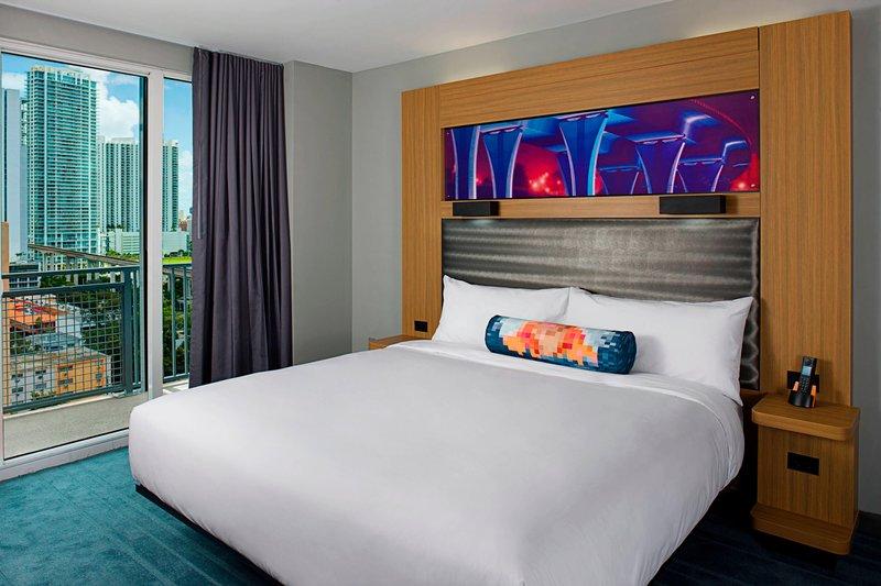 Aloft Miami - Brickell-Guest Room<br/>Image from Leonardo