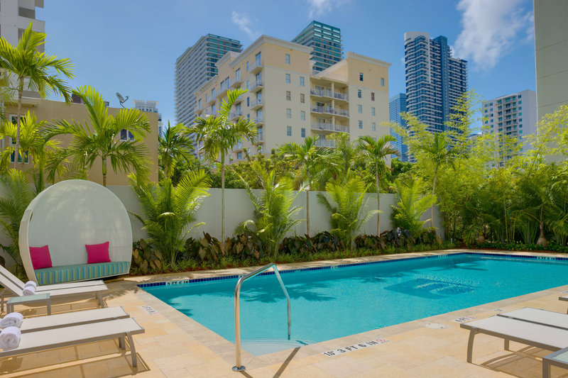 Aloft Miami - Brickell-Splash Pool<br/>Image from Leonardo
