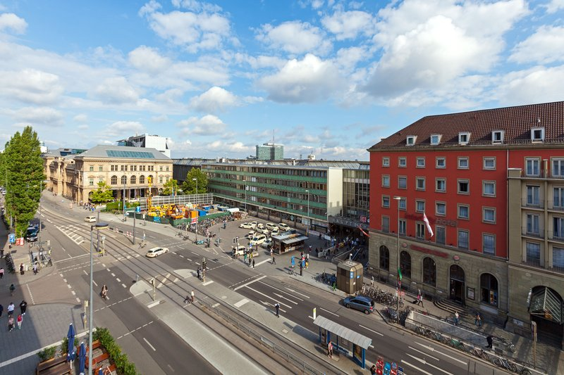 Aloft Munich-View - Central Station<br/>Image from Leonardo