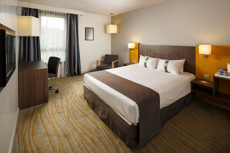 Holiday Inn Lyon Vaise-Comfortable One King ADA/Wheelchair Accessible Room<br/>Image from Leonardo