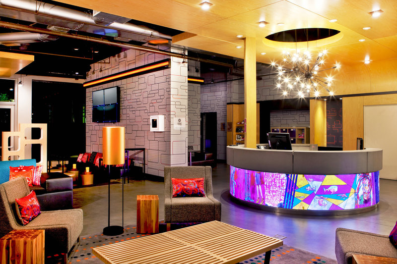 Aloft Ontario - Rancho Cucamonga-Lobby and Front Desk<br/>Image from Leonardo