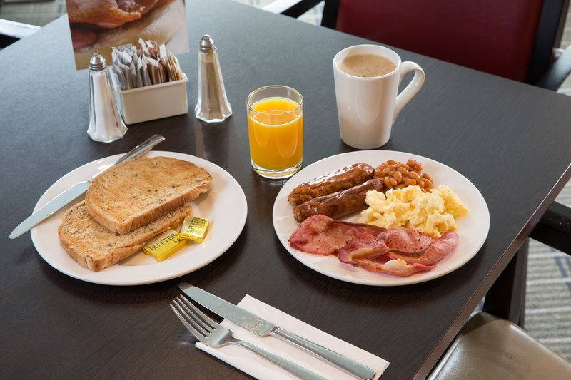 Holiday Inn Express Derby - Pride Park-Tuck in to a delicious inclusive buffet breakfast when you awake<br/>Image from Leonardo