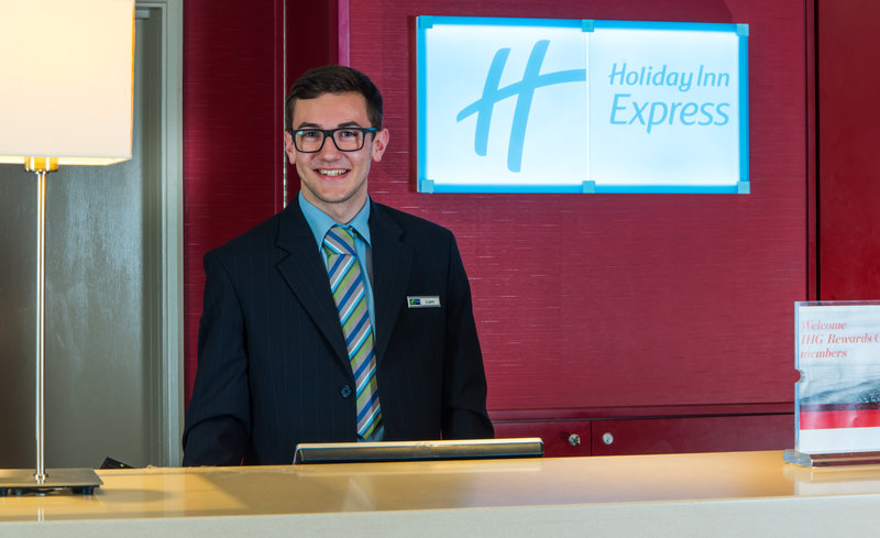 Holiday Inn Express Derby - Pride Park-You'll always be greeted with a smile and a warm welcome<br/>Image from Leonardo