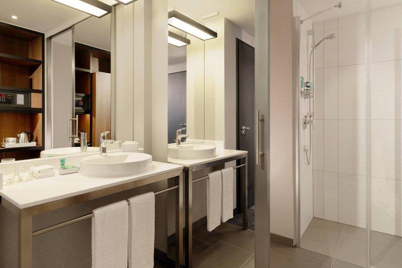Aloft Stuttgart-Guest Bathroom<br/>Image from Leonardo