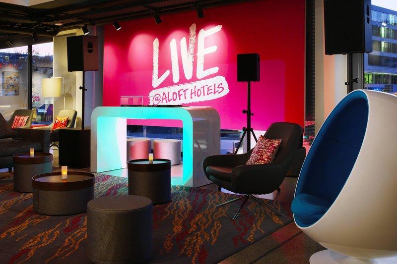 Aloft Stuttgart-mix Lounge Detail<br/>Image from Leonardo