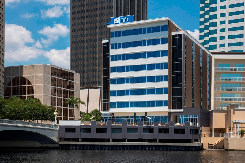 Aloft Tampa Downtown-Exterior - Riverview<br/>Image from Leonardo