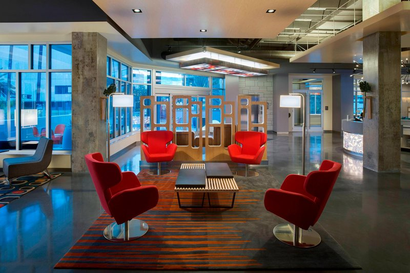 Aloft Tampa Downtown-Lobby<br/>Image from Leonardo