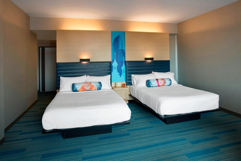 Aloft Tampa Downtown-Aloft Double Queen Guest Room<br/>Image from Leonardo