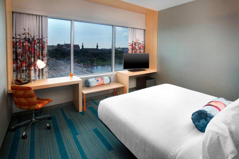 Aloft Tampa Downtown-Aloft River King Guest Room<br/>Image from Leonardo