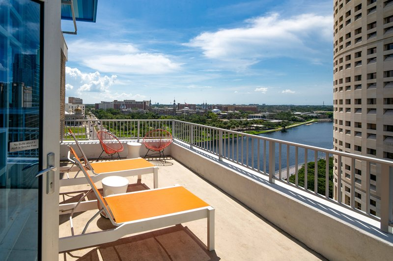 Aloft Tampa Downtown-Ultra Savvy Double Queen Suite Balcony<br/>Image from Leonardo