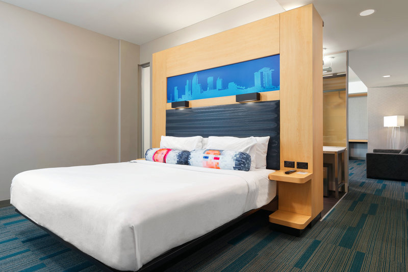 Aloft Tampa Downtown-Ultra Savvy King Suite with Sofa Bed and Balcony<br/>Image from Leonardo