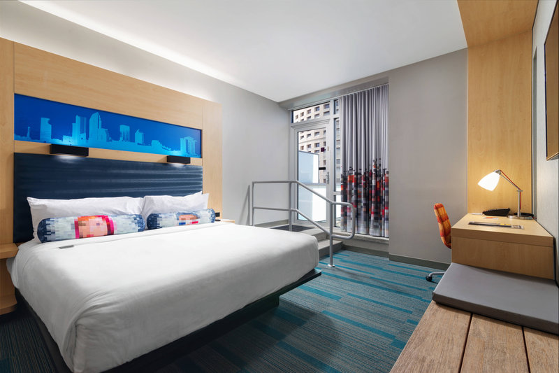 Aloft Tampa Downtown-Ultra Savvy King Suite with Balcony<br/>Image from Leonardo