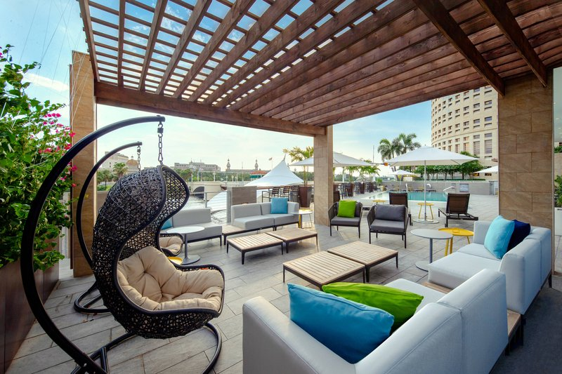 Aloft Tampa Downtown-Backyard And Splash Pool Deck<br/>Image from Leonardo