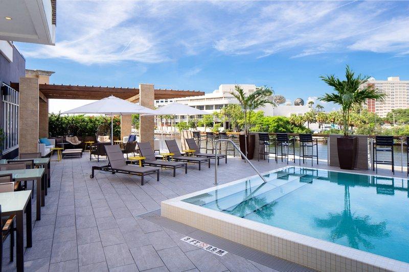 Aloft Tampa Downtown-Splash Pool Deck<br/>Image from Leonardo