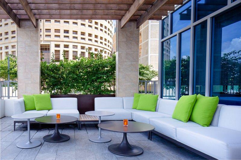 Aloft Tampa Downtown-Trellis Poolside Seating<br/>Image from Leonardo