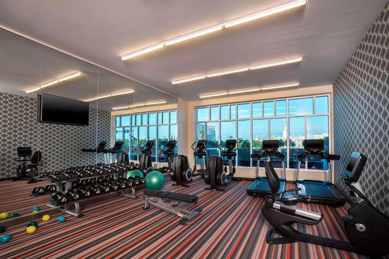 Aloft Tampa Downtown-Fitness Center<br/>Image from Leonardo