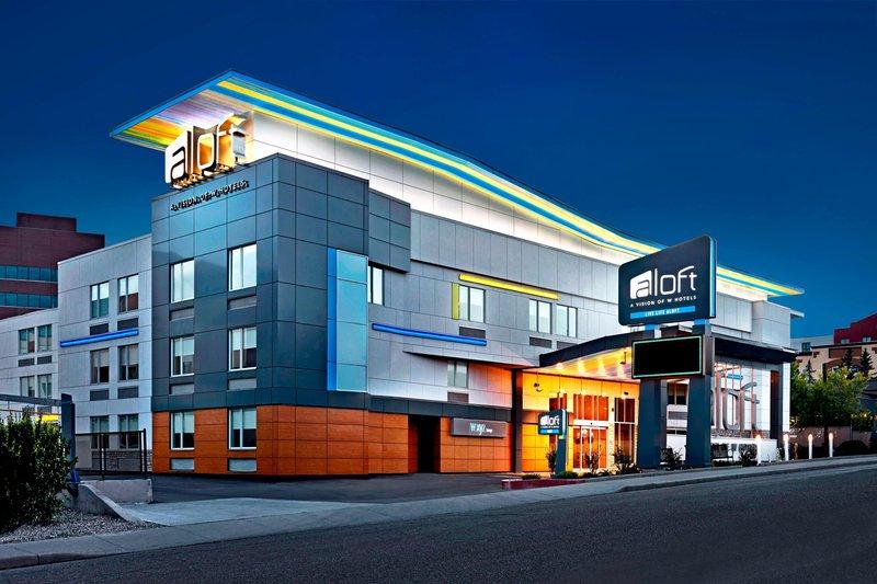 Aloft Calgary University-Exterior<br/>Image from Leonardo