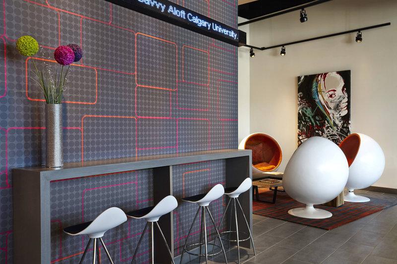 Aloft Calgary University-Re:mix Lounge<br/>Image from Leonardo