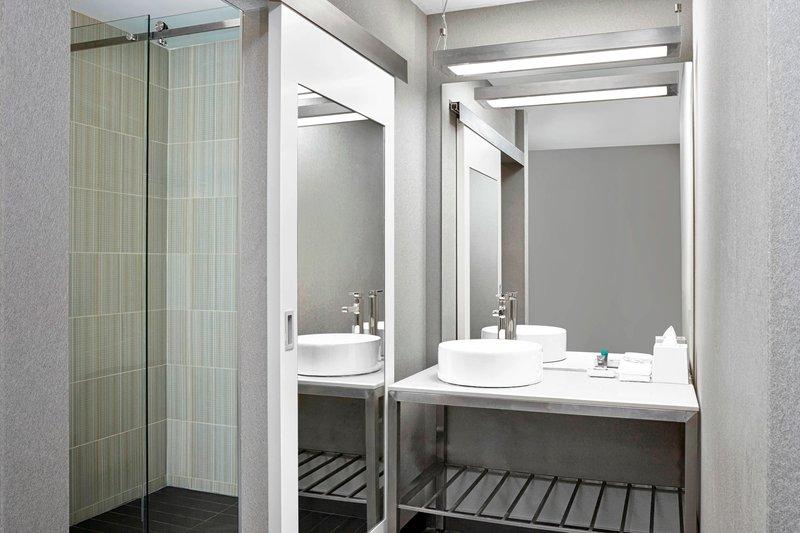 Aloft Calgary University-Guest Bathroom<br/>Image from Leonardo