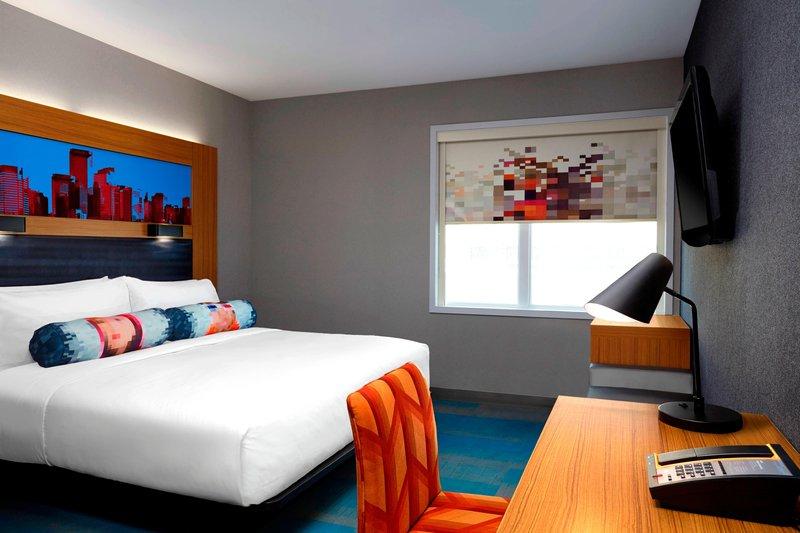 Aloft Calgary University-King Guest Room<br/>Image from Leonardo