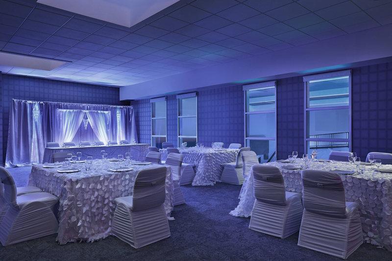 Aloft Calgary University-Wedding Reception<br/>Image from Leonardo
