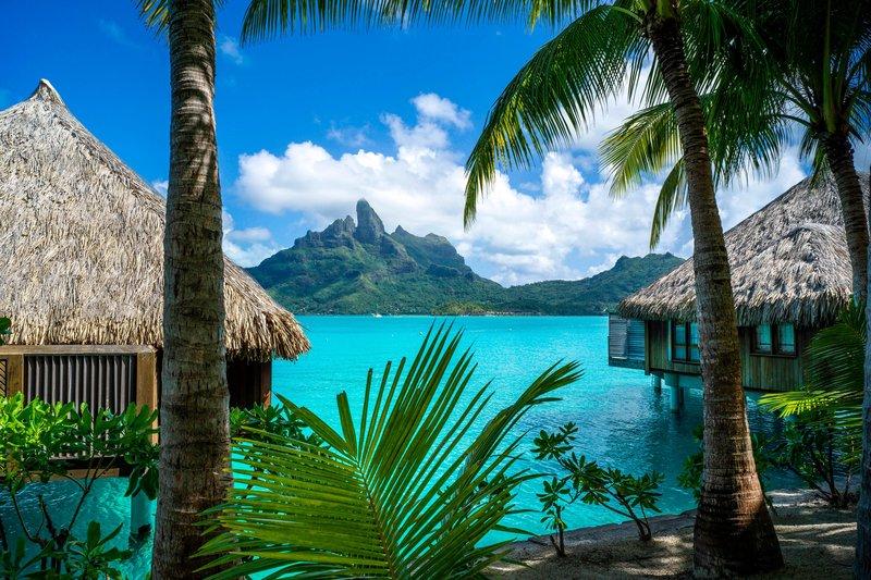 St Regis Resort Bora Bora - Overwater Deluxe Otemanu Villa - Exterior <br/>Image from Leonardo