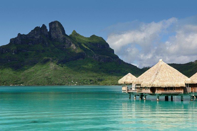 St Regis Resort Bora Bora - Deluxe Overwater Villa Exterior <br/>Image from Leonardo
