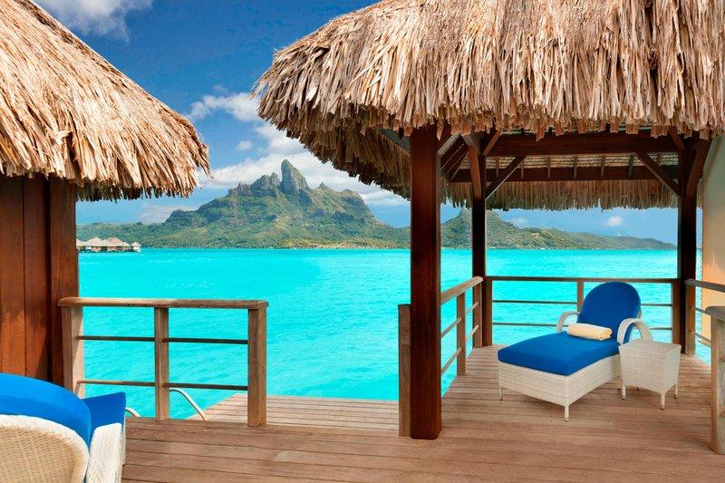 St Regis Resort Bora Bora - Deluxe Overwater Otemanu Villa <br/>Image from Leonardo