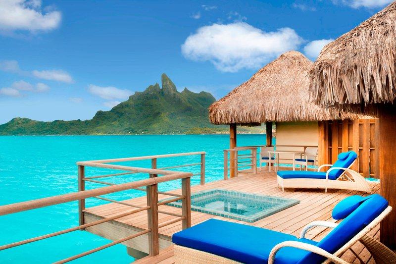 St Regis Resort Bora Bora - Premier Overwater Otemanu Villa with Whirlpool <br/>Image from Leonardo