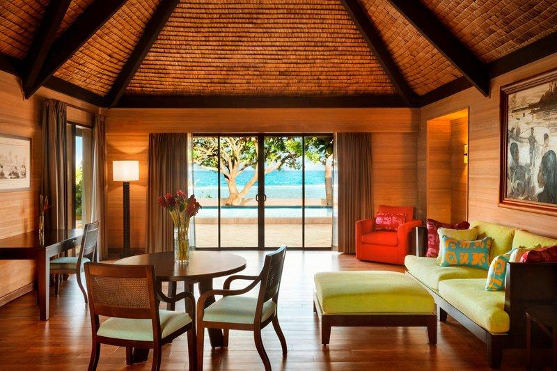 St Regis Resort Bora Bora - Reefside Garden Villa with Pool - Living Room <br/>Image from Leonardo