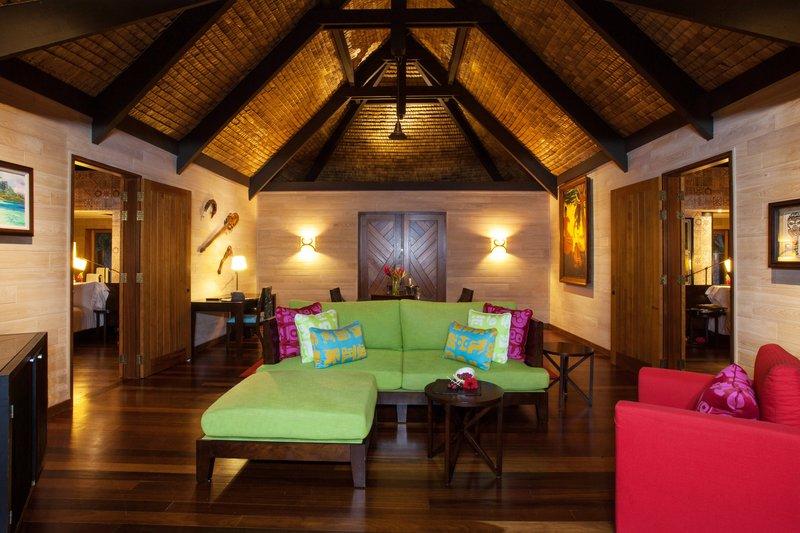 St Regis Resort Bora Bora - Royal Beach Villa - Living Room <br/>Image from Leonardo