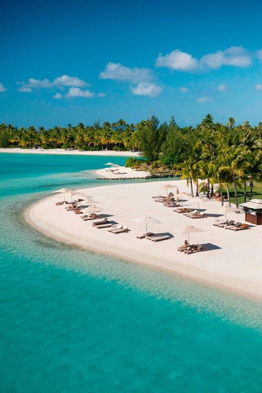 St Regis Resort Bora Bora - Beach <br/>Image from Leonardo