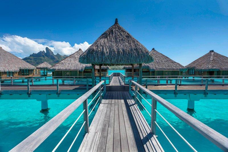 St Regis Resort Bora Bora - Overwater Villas - Exterior <br/>Image from Leonardo