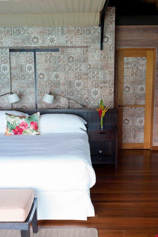 St Regis Resort Bora Bora - Overwater Superior Villa - Bedroom <br/>Image from Leonardo