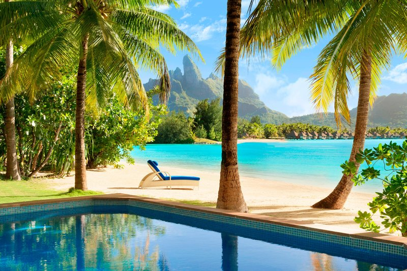 St Regis Resort Bora Bora - Beachside Villa with Pool <br/>Image from Leonardo