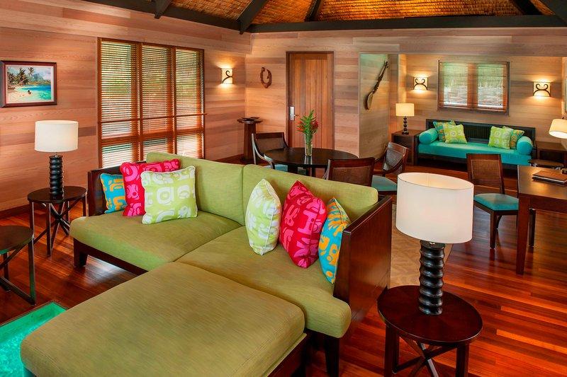 St Regis Resort Bora Bora - Premium Overwater Villa - Family Room <br/>Image from Leonardo