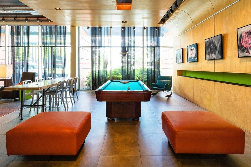 Aloft Lexington-Aloft Pool Table<br/>Image from Leonardo