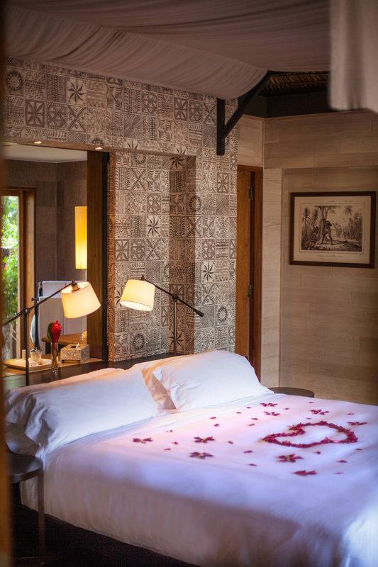 St Regis Resort Bora Bora - Reefside Garden Villa with Pool - Bedroom <br/>Image from Leonardo