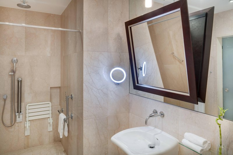 Grand Hotel River Park; a Luxury Collection Hotel-Accessible Guest Bathroom<br/>Image from Leonardo