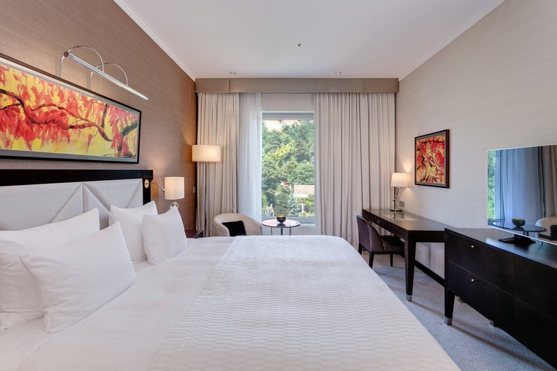 Grand Hotel River Park; a Luxury Collection Hotel-Danube Suite - Bedroom<br/>Image from Leonardo
