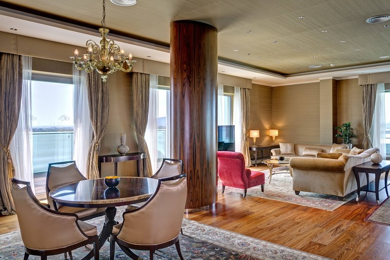 Grand Hotel River Park; a Luxury Collection Hotel-Presidential Suite - Living Room<br/>Image from Leonardo